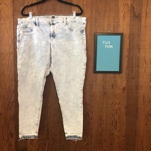Gap Acid Wash Regular Favorite Jeans Size 20 / 35